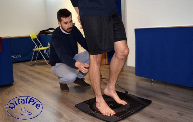 Estudio Biomecánico de la pisada de los jugadores de la A.D Alcorcón
