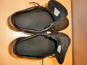Plantilla adaptado a bota de futbol